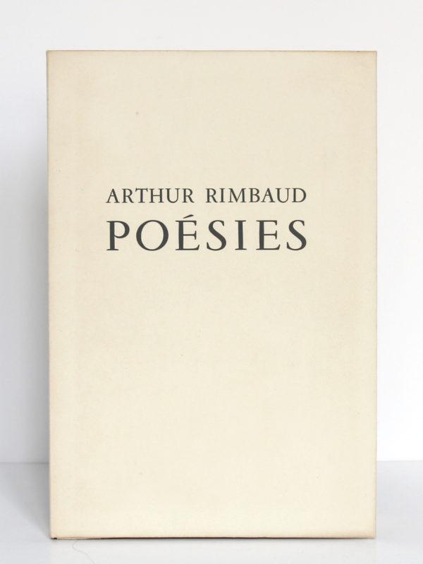 Poésies, Arthur Rimbaud. Marcel Lubineau Éditeur, 1953. Illustrations de Lucien Boucher. Couverture.