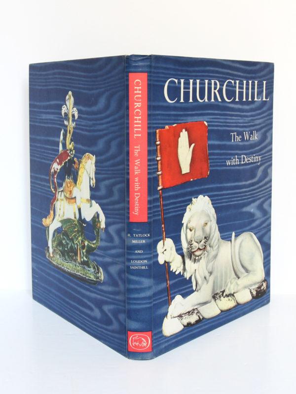 Churchill The Walk with Destiny. Hutchinson, 1959. Relié. Couverture et dos.