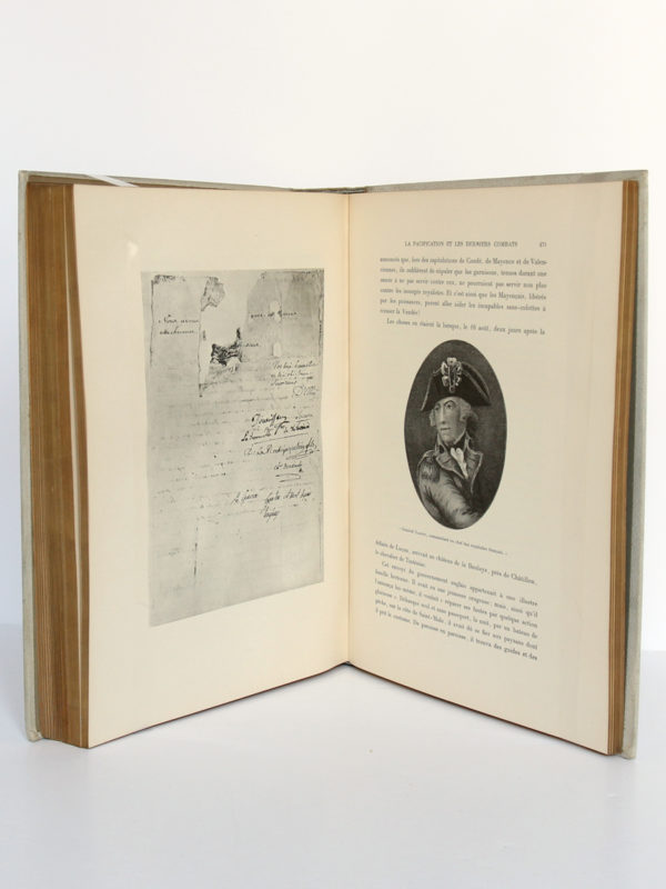 L'épopée vendéenne, G. GAUTHEROT. Maison Alfred Mame & Fils. Pages intérieures 2.