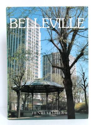 Belleville, Clément LÉPIDIS, Emmanuel JACOMIN. Éditions Denoël, 1988. Couverture.
