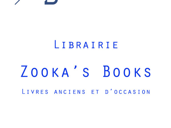 Catalogue Zooka's Books Novembre 2018 - Couverture
