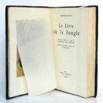 Le Livre de la jungle, Rudyard KIPLING. Illustrations H.DELUERMOZ. Librairie Delagrave, 1936. Page titre.