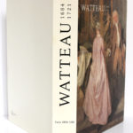 Watteau 1684-1721. Catalogue de l'exposition de 1984 au Grand Palais à Paris. 1984. Reliure : plats et dos.