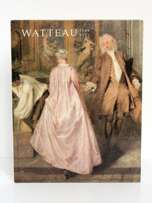 Watteau 1684-1721. Catalogue de l'exposition de 1984 au Grand Palais à Paris. 1984. Couverture.
