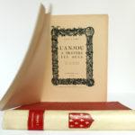 L'Anjou à travers les âges, Chanoine A. Guéry. H. Siraudeau & Cie, 1947. Page titre.