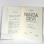 Nanda Devi, troisième expédition française à l'Himalaya, J.-J. LANGUEPIN, L. PAYAN. Arthaud, 1952. Page titre.