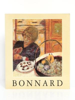 Bonnard 1867-1947, Lausanne, La Fondation de l'Hermitage, La Bibliothèque des Arts, 1991. Couverture.