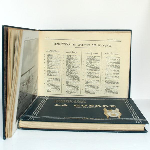 La Guerre. Documents de la section photographique de l'armée. 2 volumes. 1916. Tome second : pages intérieures 2.
