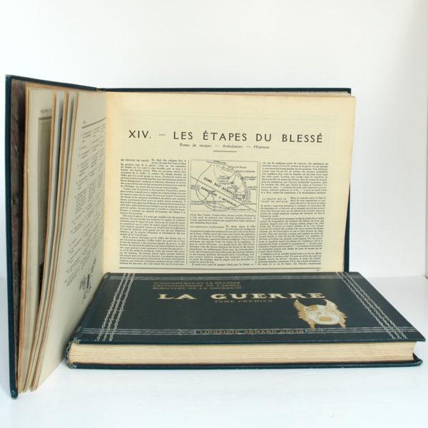 La Guerre. Documents de la section photographique de l'armée. 2 volumes. 1916. Tome second : pages intérieures 3.