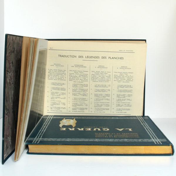 La Guerre. Documents de la section photographique de l'armée. 2 volumes. 1916. Tome premier : pages intérieures 2.