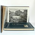 La Guerre. Documents de la section photographique de l'armée. 2 volumes. 1916. Tome second : pages intérieures 1.