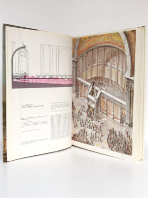 La Fabbrica di San Pietro, Alberto C. CARPICECI. Libreria Editrice Vaticana - Firenze, Bonechi Editore, 1983. Pages intérieures 1.