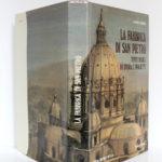 La Fabbrica di San Pietro, Alberto C. CARPICECI. Libreria Editrice Vaticana - Firenze, Bonechi Editore, 1983. Jaquette.