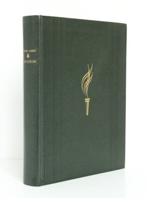 Napoléon, Octave Aubry. Flammarion, 1942. Reliure.