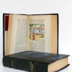 La Chartreuse de Parme, Stendhal. Aquarelles de Paul Domenc. La Belle Édition, sans date [1947]. Pages intérieures 2 du volume 1 et volume 2.