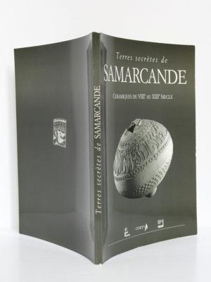 Terres secrètes de Samarcande. Céramiques du VIIIe au XIIIe siècle. Catalogue d'exposition 1992. Couverture : dos et plats.