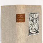 Théâtre de tradition populaire, publié par Jean VARIOT. Robert Laffont, 1942. Reliure : dos et plats.
