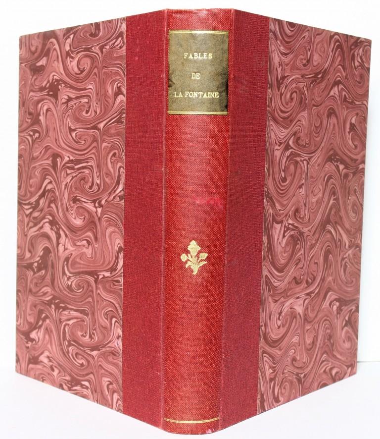 Fables de La Fontaine illustrées par Benjamin Rabier. Reliure. Livre ancien.