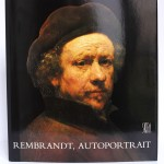 Rembrandt, autoportrait. Pascal Bonafoux. Skira 1985. Relié pleine toile.
