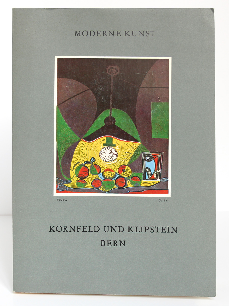 Moderne kunst. Berne 1978. Catalogue allemand. Couverture.