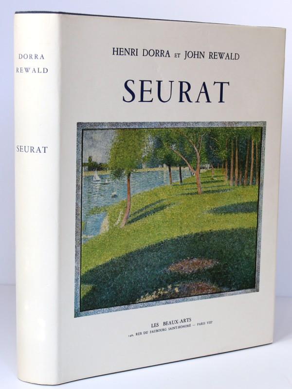 Seurat. L'Œuvre peint Biographie et catalogue critique. Dorra et Rewald. Couverture.