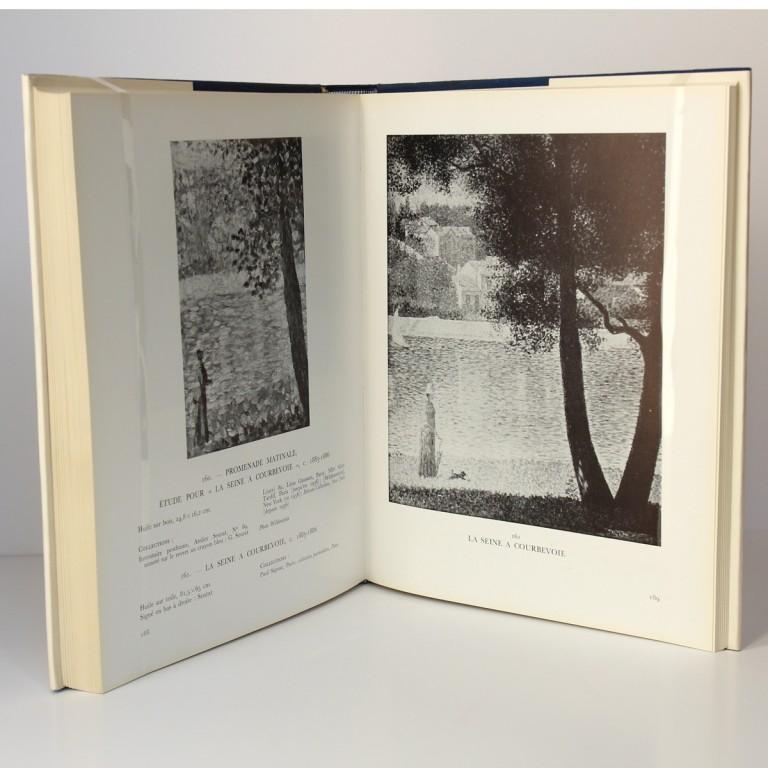 Seurat. L'Œuvre peint Biographie et catalogue critique. Dorra et Rewald. Pages intérieures_2.