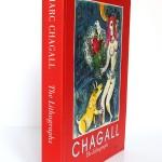 Marc Chagall. The lithographs. La collection Sorlier. 1998. Dos et couverture.