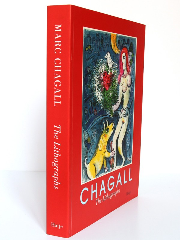 Marc Chagall. The lithographs. La collection Sorlier. 1998. Dos et couverture.
