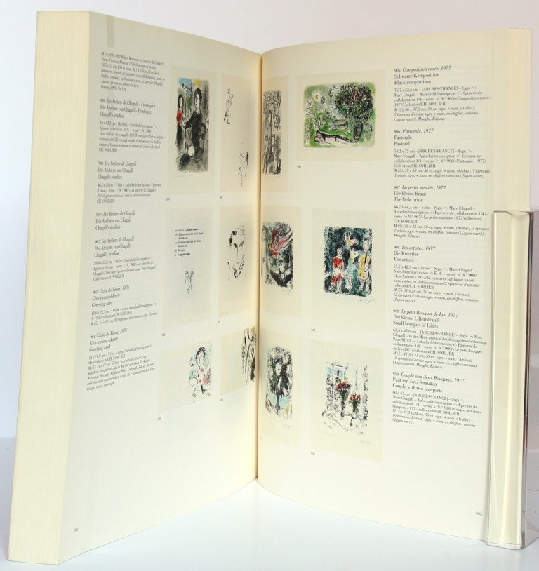 Marc Chagall. The lithographs. La collection Sorlier. 1998. Pages intérieures_2.