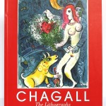 Marc Chagall. The lithographs. La collection Sorlier. 1998. Couverture.