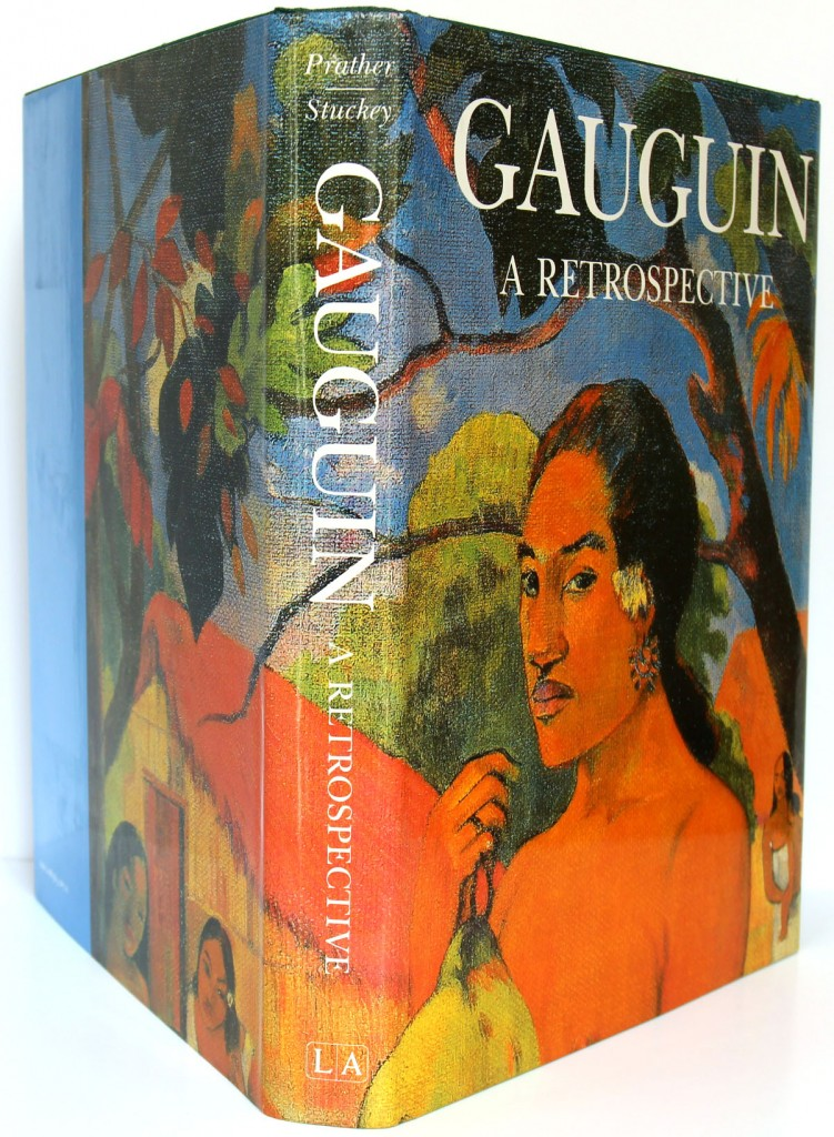 Gaugin A Retrospective. Marla Prather and Charles F. Stuckey. 1987. Dos et couvertures.