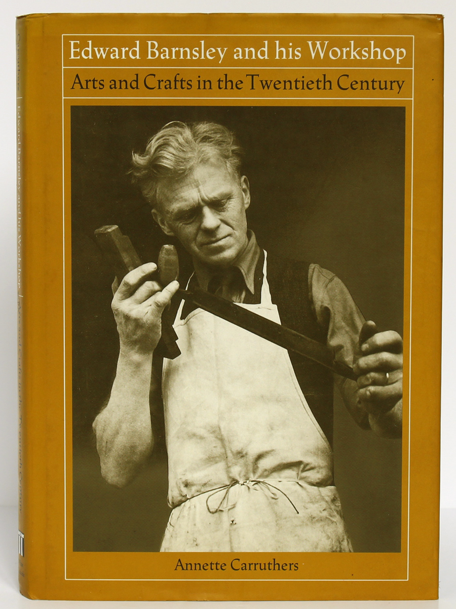 Edward Barnsley and his workshop. Annette Carruthers. White Cockade Publishing 1992. Couverture.