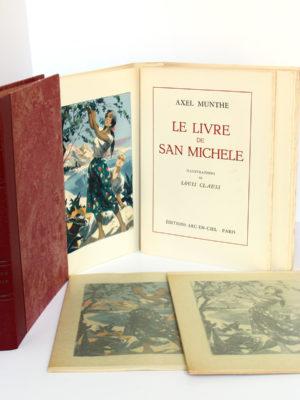 Le Livre de San-Michele. Axel Munthe. Éditions Arc-en-Ciel 1952. 2 volumes. Volume 1.