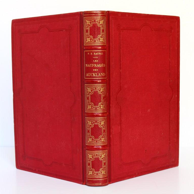 Les Naufragés ou Vingt mois sur un récif des îles Auckland. Hachette 1882. Reliure_2.