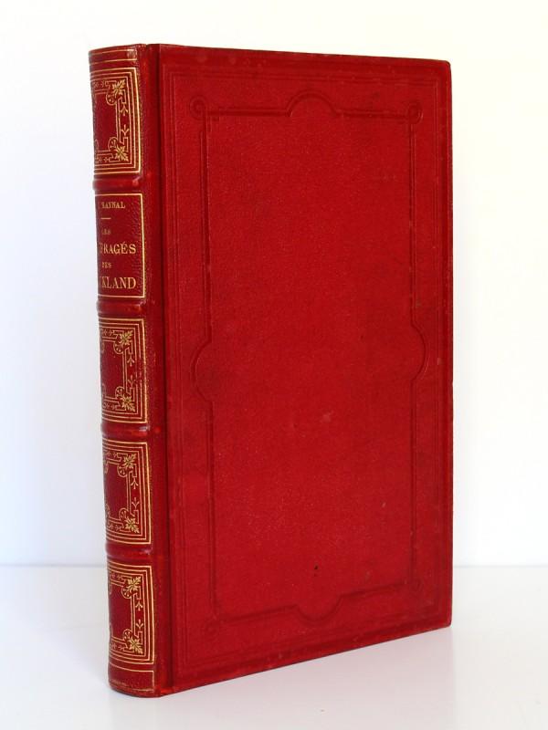 Les Naufragés ou Vingt mois sur un récif des îles Auckland. Hachette 1882. Reliure.