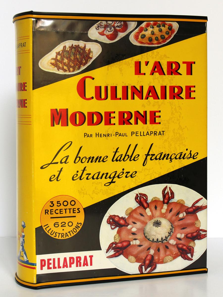 L'art culinaire moderne. Pellaprat. Kramer. 1957. Couverture.