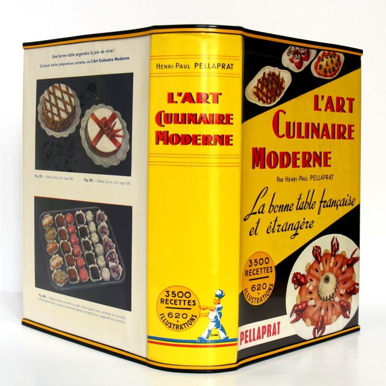 L'art culinaire moderne. Pellaprat. Kramer. 1957. Couvertures et dos.