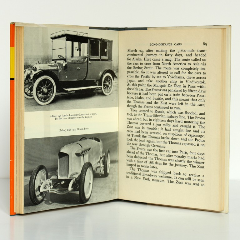 Famous Veteran Cars of the Worl. Anthony Davis. Frederick Muller, 1963. Pages intérieures_2.
