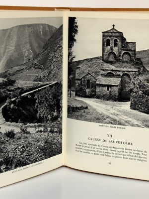 Causses et Cévennes, Gorges du Tarn. Jean GIROU, Christiane BURUCOA. Arthaud, 1957. Pages intérieures.