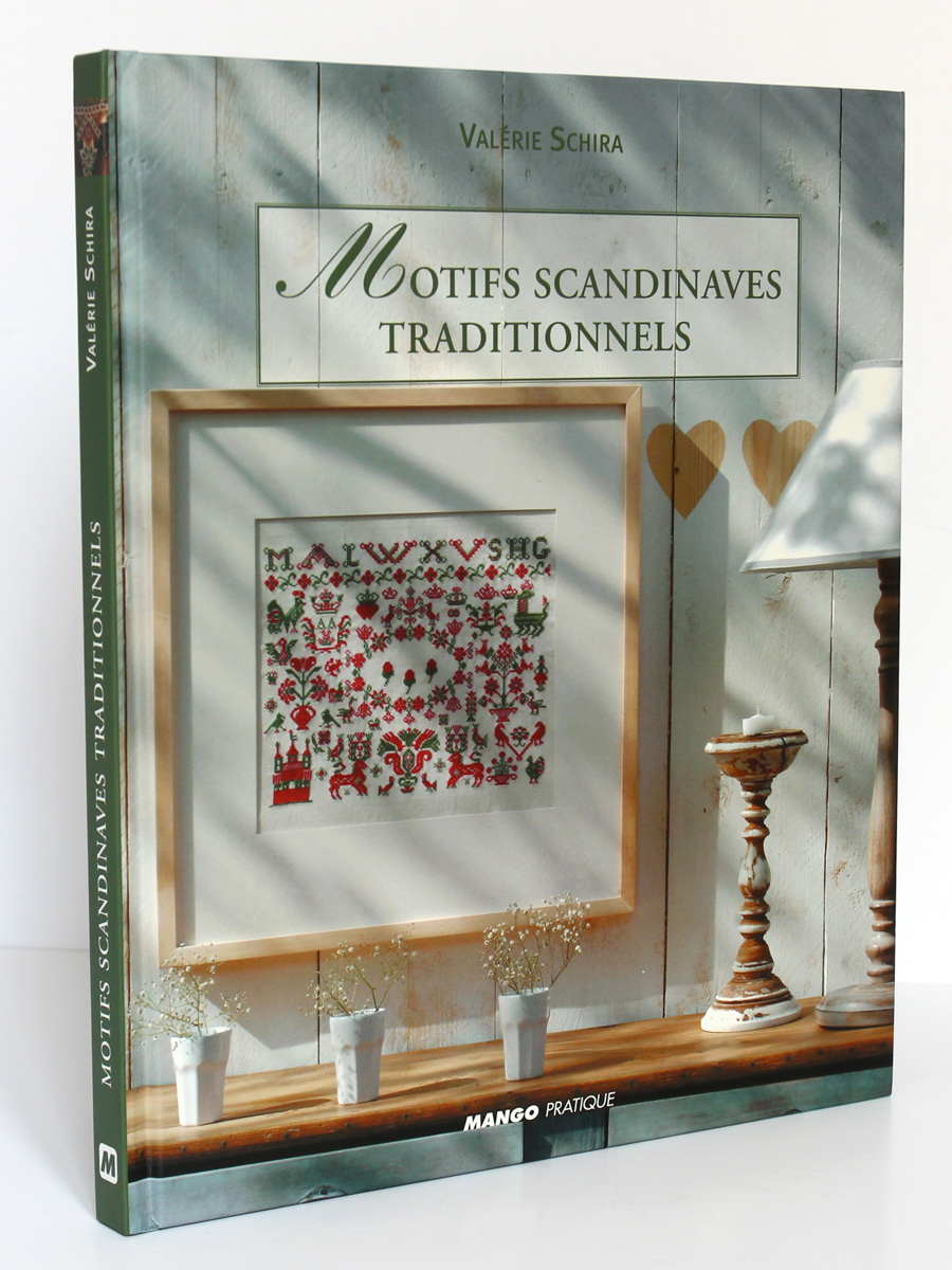 Motifs scandinaves traditionnels, Valérie SCHIRA. Mango Pratique, 2005. Reliure.