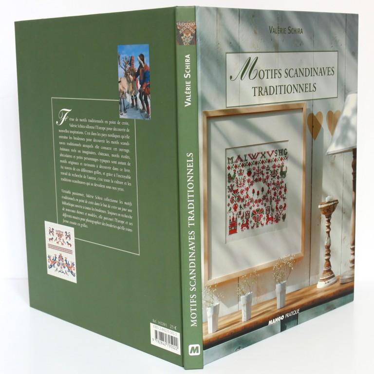 Motifs scandinaves traditionnels, Valérie SCHIRA. Mango Pratique, 2005. Cartonnage, plats et dos.