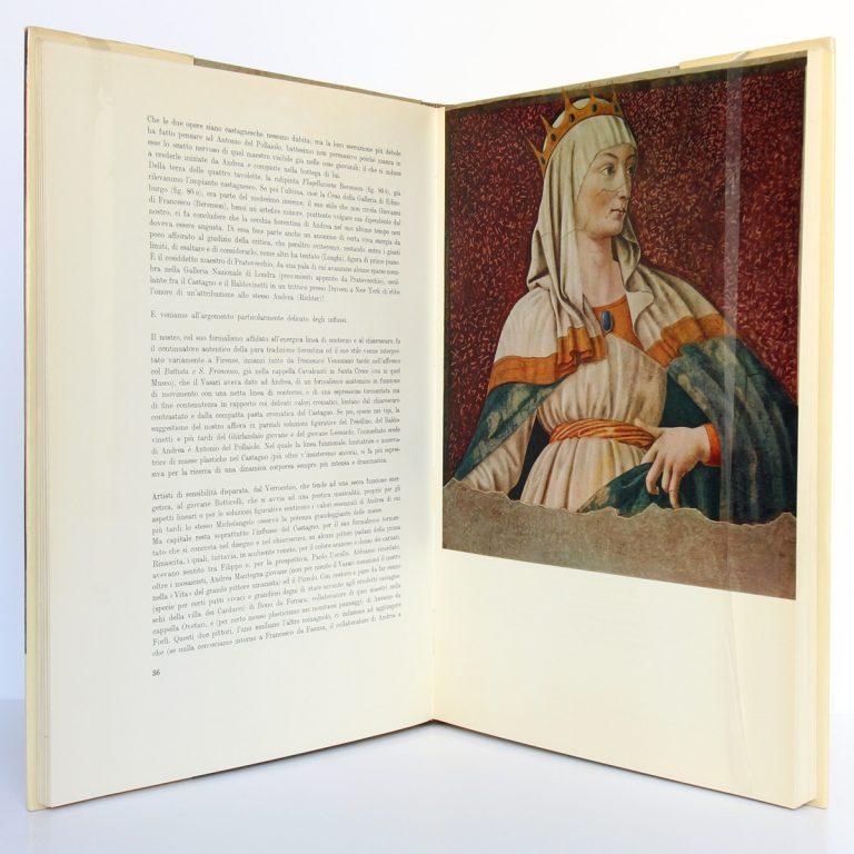 Andrea del Castagno, Mario Salmi. Istituto Geografico de Agostini, 1961. Pages intérieures 1.
