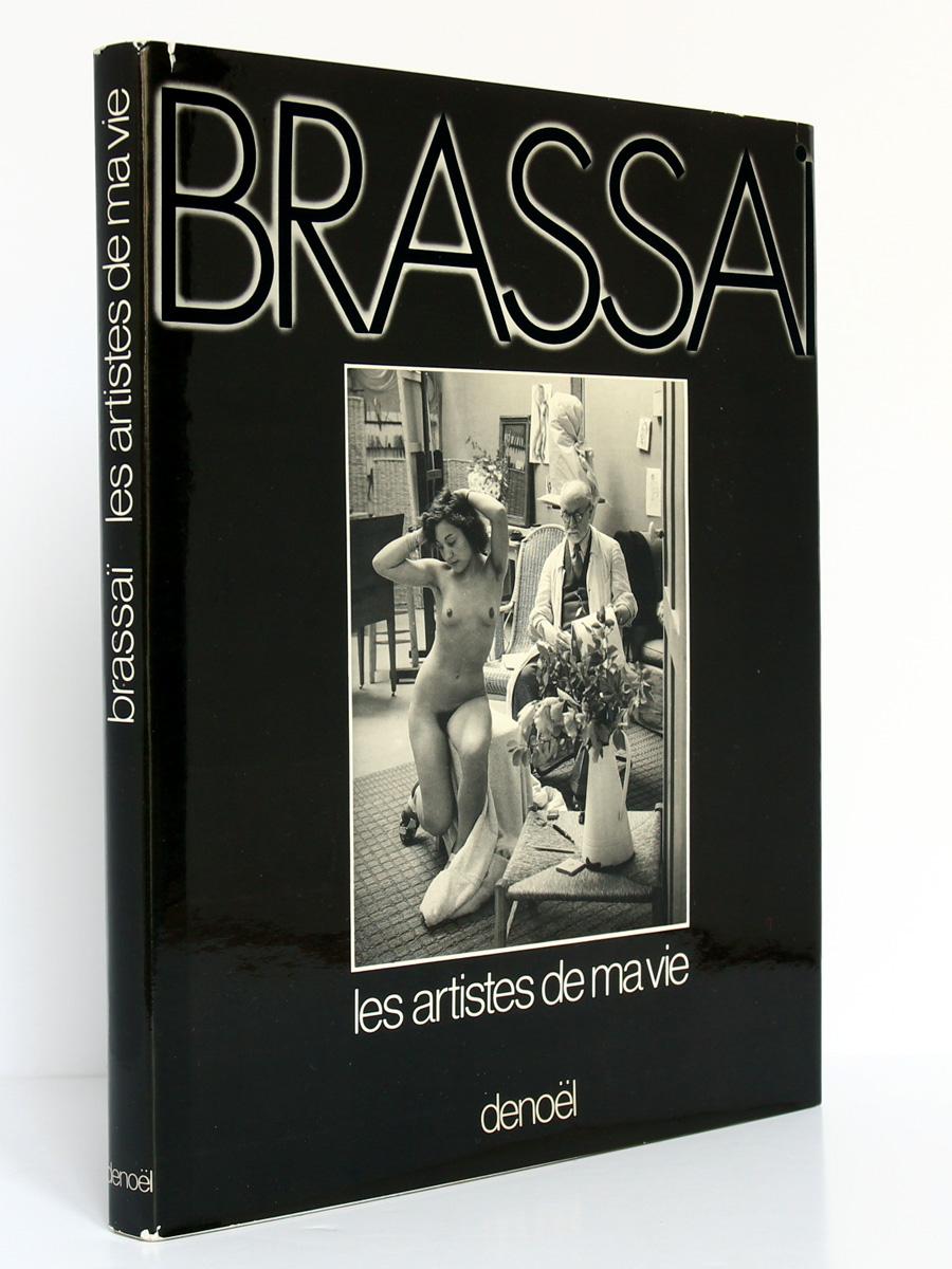 Les Artistes de ma vie, Brassaï. Denoël, 1982. Couverture.