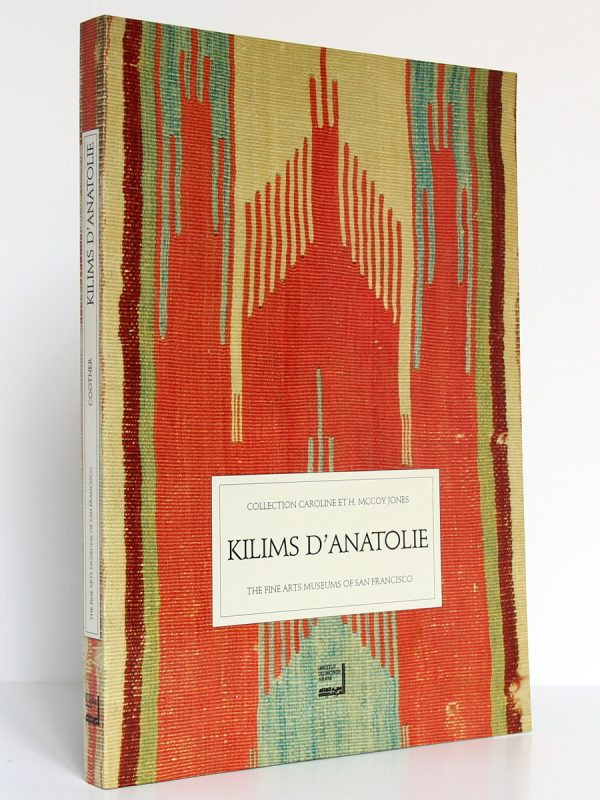 Kilims d'Anatolie, Cathryn C. Cootner. Institut du Monde Arabe 1991. Couverture.