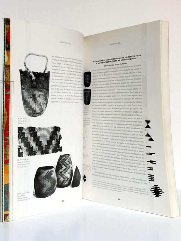 Kilims d'Anatolie, Cathryn C. Cootner. Institut du Monde Arabe 1991. Pages intérieures 1.