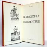 Le livre de la Passementerie, René Heutte. H. Vial 1972. Page titre et frontispice.