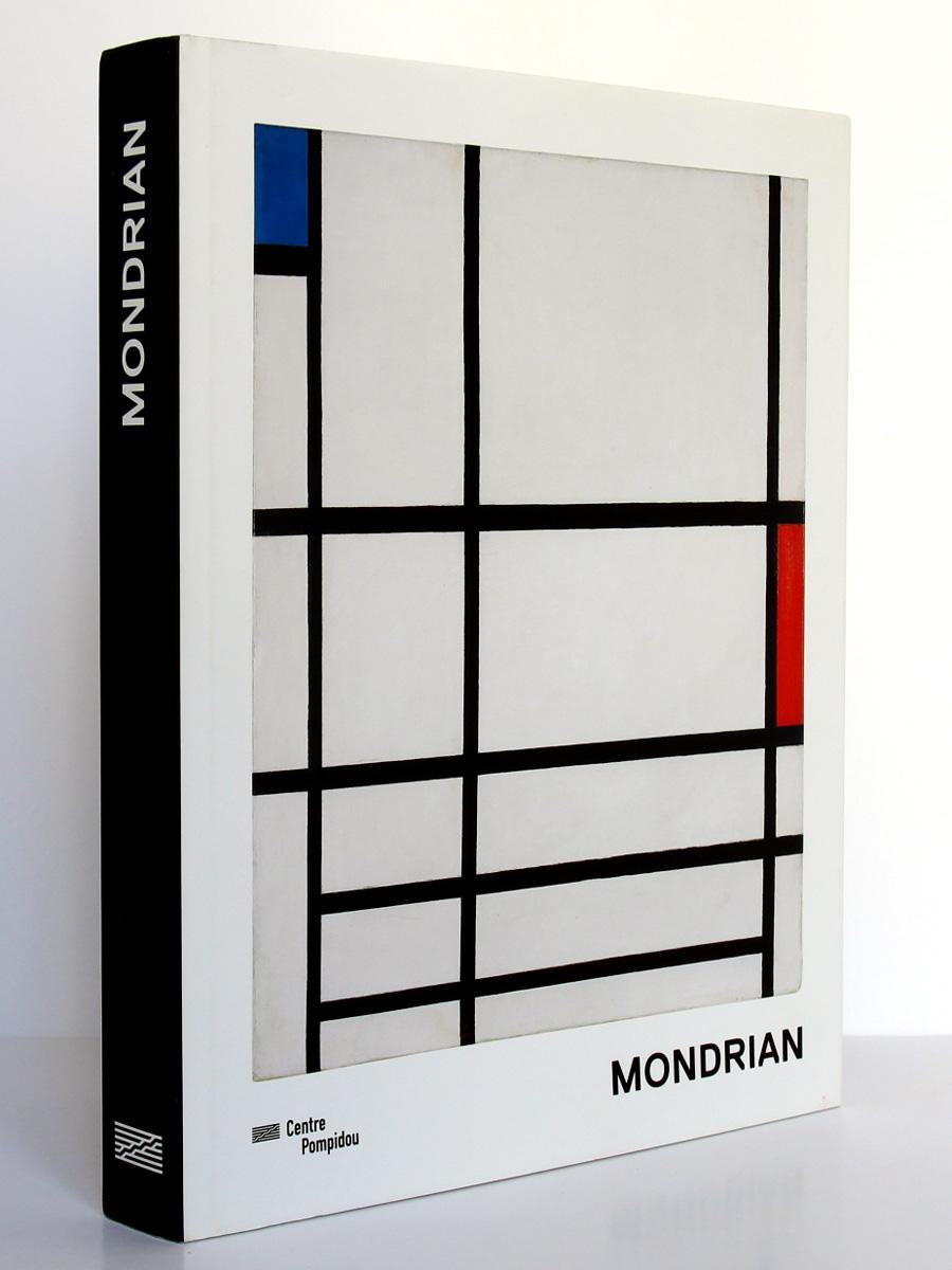 Mondrian. Éditions du Centre Pompidou 2010. Couverture.