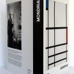 Mondrian. Éditions du Centre Pompidou 2010. Couverture : dos et plats.