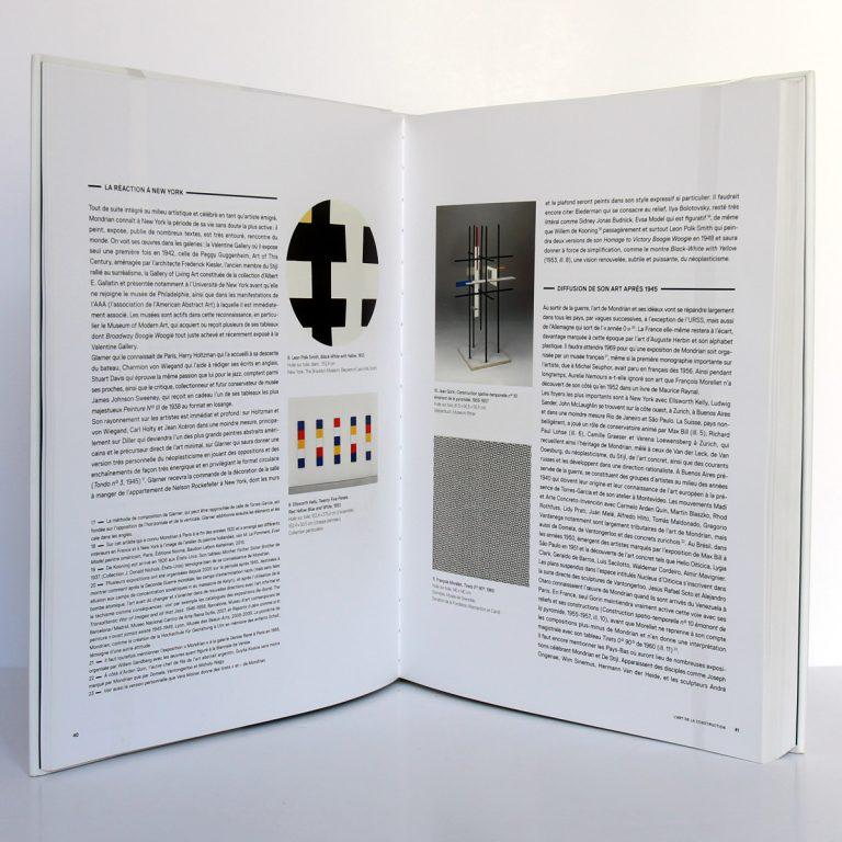 Mondrian. Éditions du Centre Pompidou 2010. Pages intérieures 2.