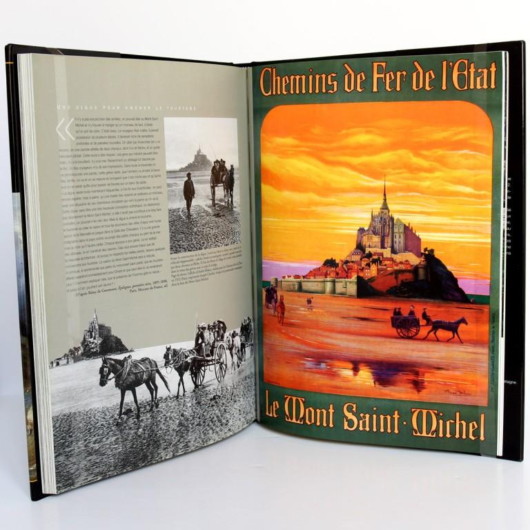 Le village du Mont-Saint-Michel, Daniel Leloup. Chasse-Marée 2004. Pages intérieures 3.
